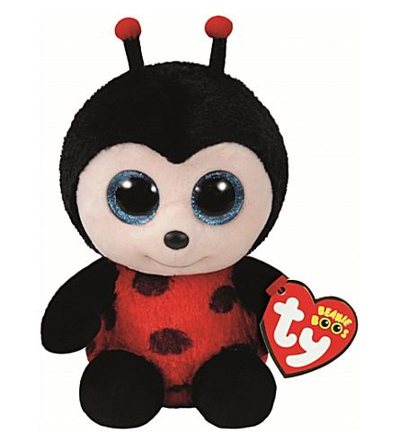 TY Izzy Ladybird Beanie Boo soft toy