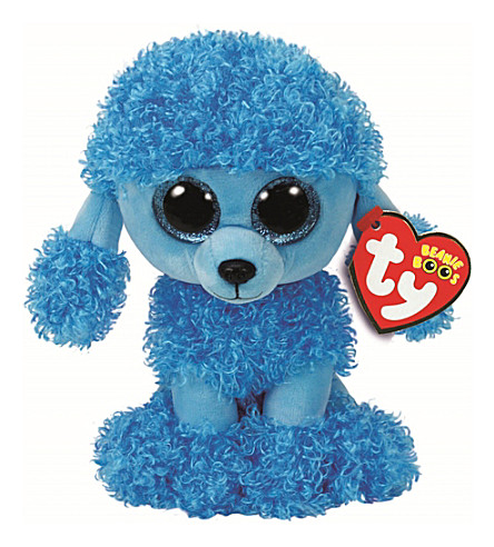 TY Mandy Poodle Beanie Boo soft toy