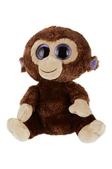 TY Beanie Boo Coconut monkey plush