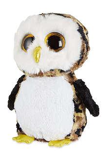 TY Beanie boos owliver owl plush