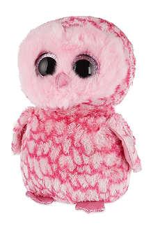 TY Beanie Boo Pinky barn owl plush