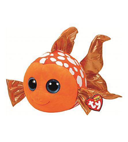 TY Boo Buddy Sami Fish soft toy