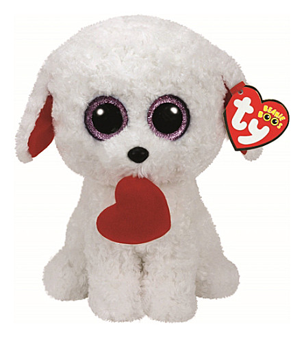 TY Honey Bun Puppy Boo Buddy soft toy