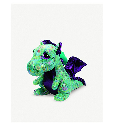 TY Boo Buddy Cinder Dragon soft toy