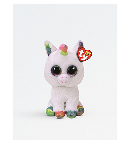 TY Pixy Boo Unicorn Beanie Boo soft toy