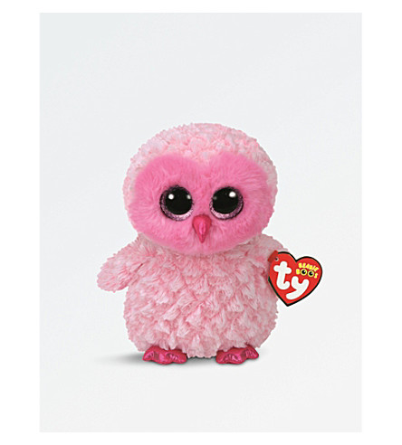 TY Twiggy Owl Boo Buddy soft toy