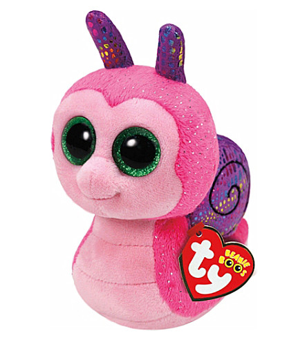 TY Scooter snail beanie boo 16cm