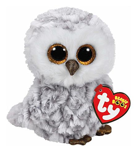 TY Owlette beanie boo 16m