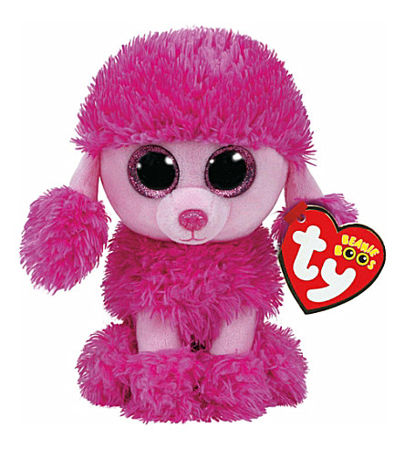 TY Patsy poodle beanie boo 16cm