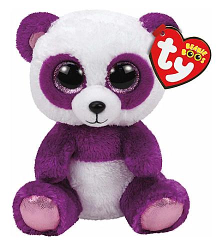TY Boom boom panda bear beanie boo 16cm