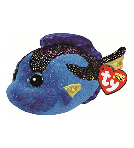 TY Beanie Boo Aqua fish soft toy