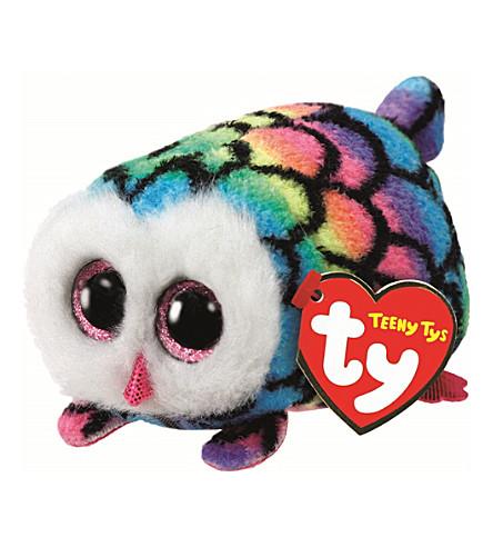 TY Hootie Owl Teeny Ty soft toy