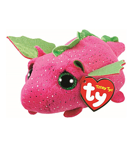 TY Darby Dragon Teeny Ty soft toy