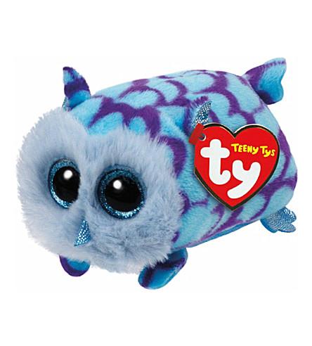 TY Teeny Ty Mimi owl soft toy 6cm