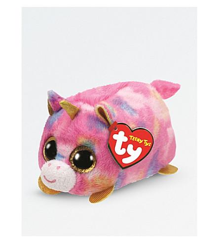 TY Star Teeny Tys unicorn soft toy