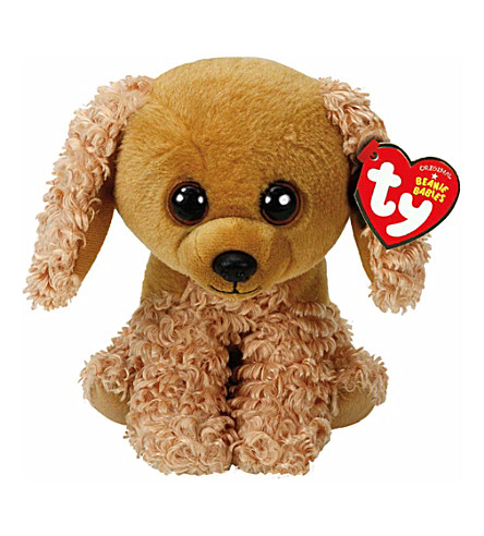 TY Sadie dog beanie baby