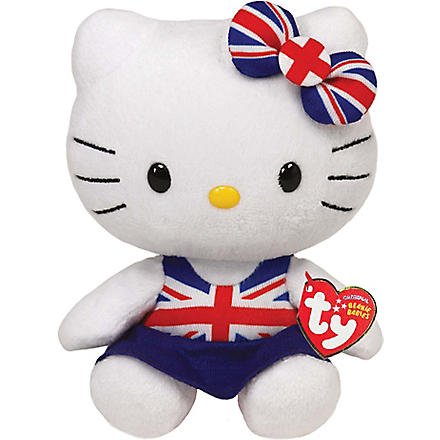 HELLO KITTY Union Jack dress beanie