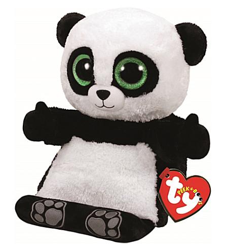 TY Peek-a-Boo Poo Panda phone holder