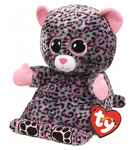 TY Peek-a-Boo Trixi Leopard phone holder
