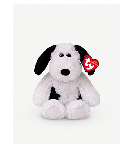ATTIC TREASURES Ty Muggy the Dog plush beanie baby 15cm