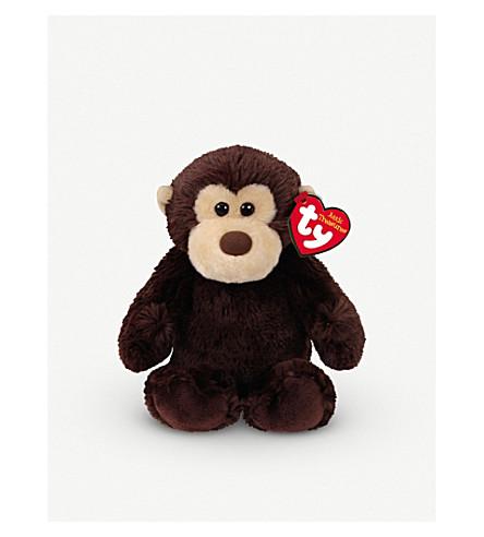 ATTIC TREASURES Ty Mookie the Monkey plush beanie baby 15cm