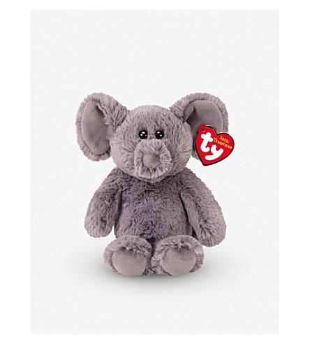 ATTIC TREASURES Ty Ella the Elephant plush beanie baby 15cm  sc 1 st  Selfridges & ATTIC TREASURES - Ty Ella the Elephant plush beanie baby 15cm ...
