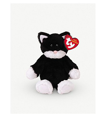 ATTIC TREASURES Ty Bessie the Cat plush beanie baby 15cm