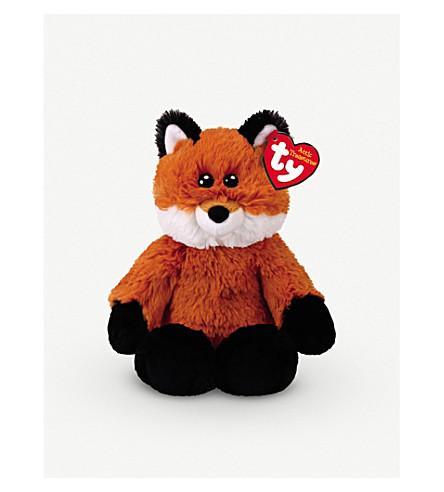 ATTIC TREASURES Ty Fred the Fox plush beanie baby 15cm