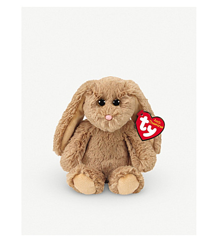 ATTIC TREASURES Ty Adrienne the Bunny plush beanie baby 15cm