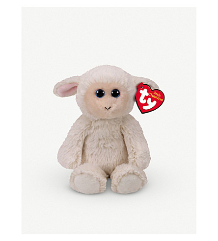 ATTIC TREASURES Ty Rachel lamb plush beanie baby 15cm