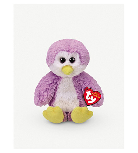 ATTIC TREASURES Ty Gordon the Penguin plush beanie baby 15cm