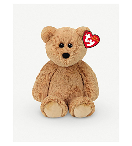 ATTIC TREASURES Ty Humphrey the Bear plush beanie buddy 21cm
