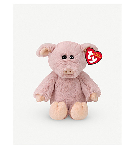ATTIC TREASURES Ty Otis the Pig plush beanie buddy 21cm