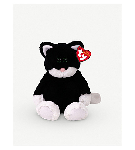 ATTIC TREASURES Ty Bessie the Cat plush buddy toy 21cm