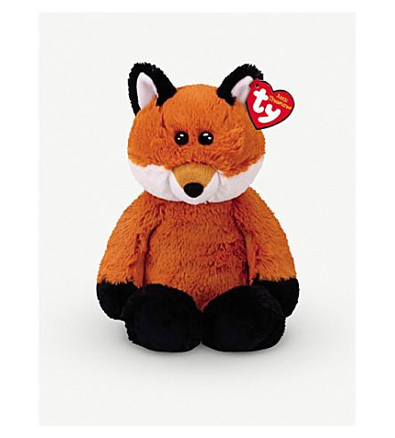 ATTIC TREASURES Ty Fred the fox plush buddy toy 21cm