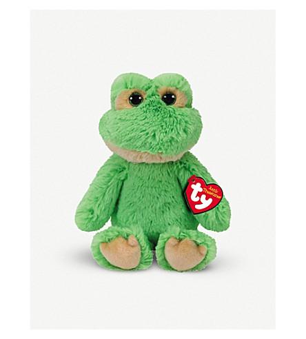 ATTIC TREASURES Floyd the Frog Beanie Buddy 21cm