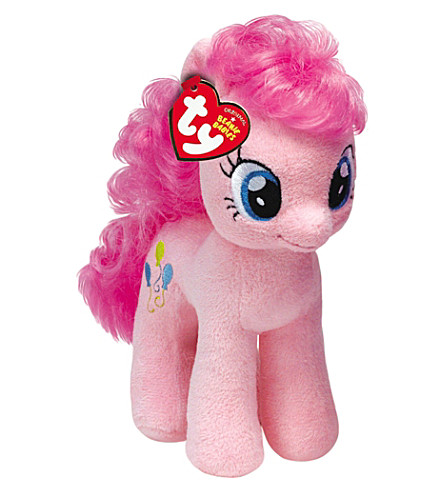 MY LITTLE PONY Pinkie Pie Beanie Baby soft toy 25cm