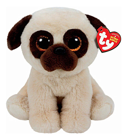 TY Rufus the pug beanie baby