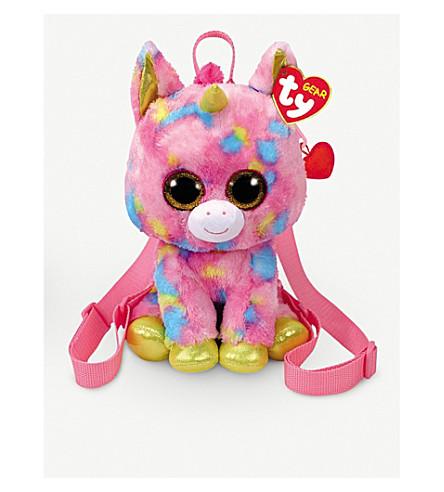 """TY - TY Beanie Boo Fantasia the Unicorn Backpack 9""""  6528addaf09d"""