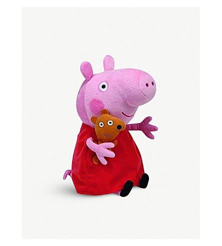 PEPPA PIG Peppa Pig Beanie Baby soft toy 33cm