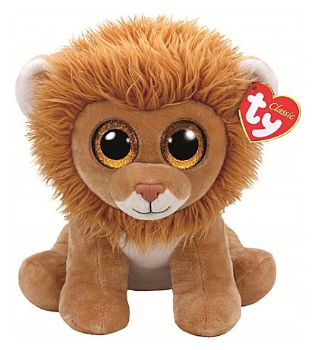 TY Classic Louie lion soft toy