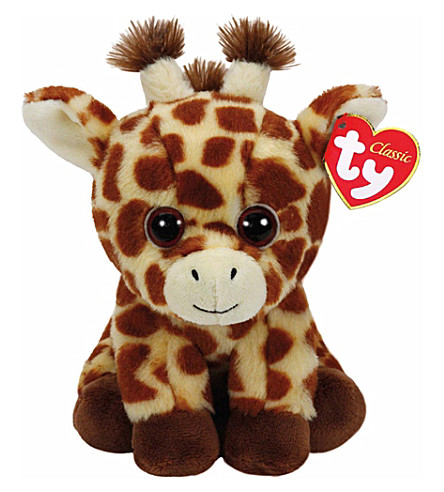 TY Peaches giraffe classic beanie soft toy 24cm