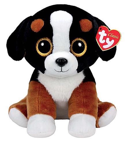 TY Roscoe dog beanie baby large