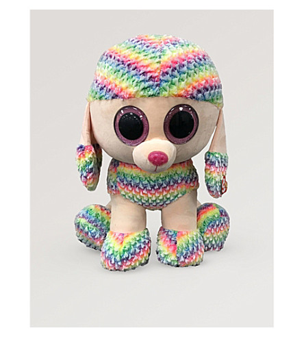 TY Beanie Boos Rainbow Poodle soft toy 60cm