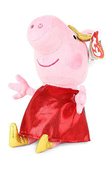 PEPPA PIG Peppa Pig golden boots soft beanie toy