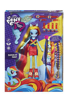MY LITTLE PONY My Little Pony Equestria Girls Rainbow Dash Doll set