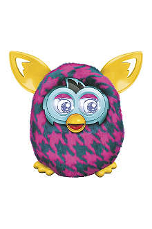 FURBY Sweet Purple Houndstooth Furby Boom