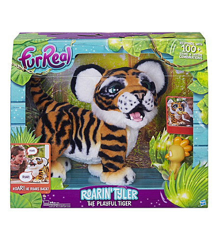 FURREAL Roarin' Tyler the playful tiger pet toy