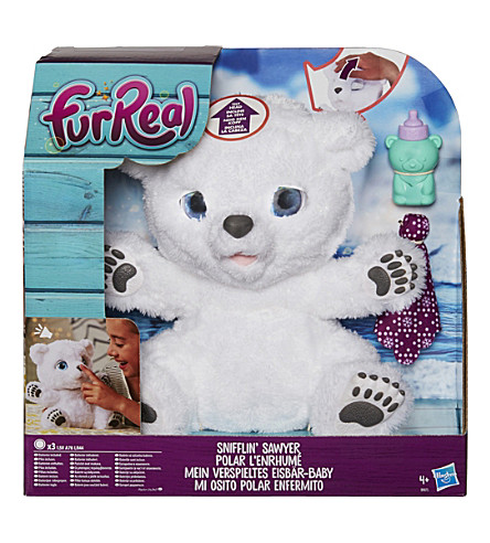 FURREAL Snifflin' Sawyer polar bear