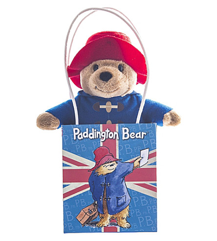 PADDINGTON BEAR Union Jack bag Paddington Bear set